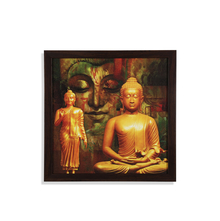 Dhyana Buddha Painting - @home by Nilkamal, Green