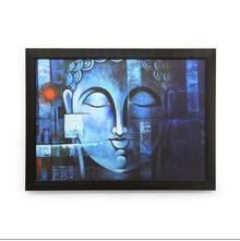 Bodhi Vishram 60x80cm Painting - @home by Nilkamal, Indigo