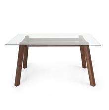 Verito 6 Seater Dining Table, Merlot Beech