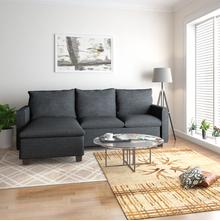 Napster Reversible Lounger Sofa, Grey