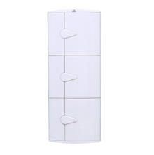 3 Doors Blooms Storage Cabinet - @home Nilkamal,  ivory