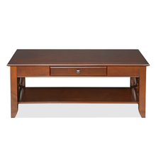 Crest Center Table - @home by Nilkamal, Walnut
