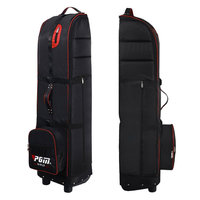 PGM ToughNut Travel Cover Bag - Black/Red,  black