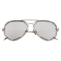 Reflect On That Aviator Sunnies (Silver)