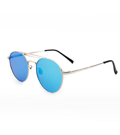 Hollywood Boulevard Sunnies (Blue Reflective)