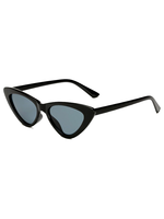 Gigi Cat Eye Black Sunglasses