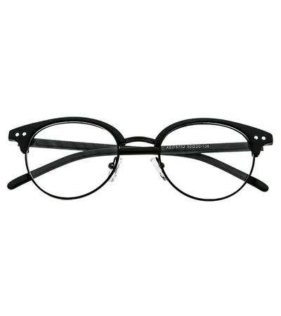 Eye On The Prize Black Cat Eye Frame