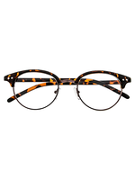 Eye On The Prize Animal Print Cat Eye Frame