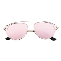 Bring On The Sun Sunnies (Rose Gold Reflective)