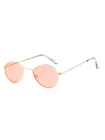 Metal Micro Pink Sunglasses