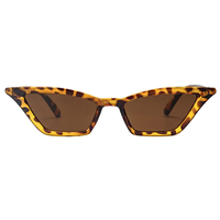 Kylie Micro Cat Eye Animal Print Sunglasses