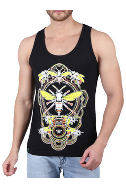 BUMBLE; SLEEVELESS (GLOW IN THE DARK), xl