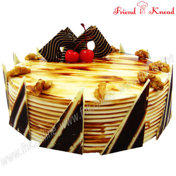 Mocha Walnut Cake, 0.5 kg, select time, egg