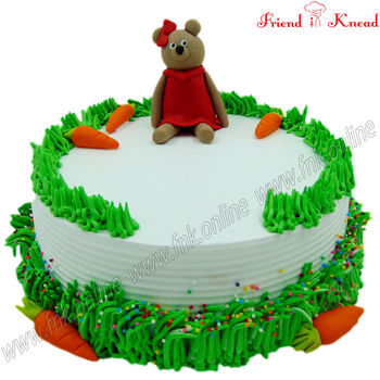 Teddy Bear Cake, select time, 1 kg, select flavour