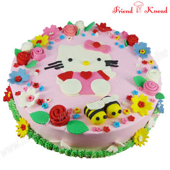 Hello Kitty Cake, 2 kg, egg