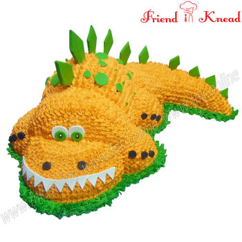 The Crocodile Cake, 5 kg, egg