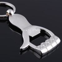 SuperDeals Thumb Shaped Bottle Opener Key Chain