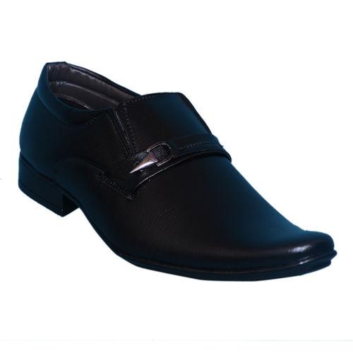 Smoky Black Classic Slip On Shoe SM415BK, 6