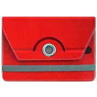 "Universal 7"" folio Cover for tablets in red Color"