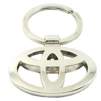 SuperDeals Toyota Metallic Ring Key Chain