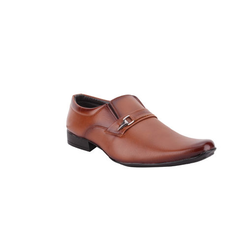 Smoky Tan Classic Slip On Shoe SM415TN, 7