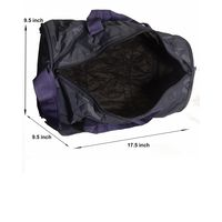 Gym Bag - Foldable-Round shape (MN-0117-N-BLU)