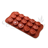 Silicone Round Shape - 7 - Chocolate Mould