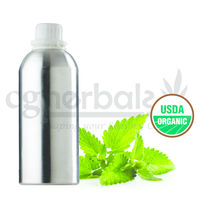 Organic Indian Peppermint Oil, 1000g