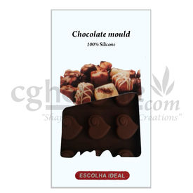 Silicone Heart Shape - 4 - Chocolate Mould
