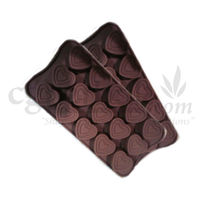 Silicone Heart Shape - 3 - Chocolate Mould