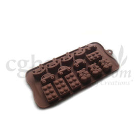 Silicone Toy Shape -5 - Chocolate Mould