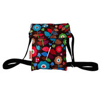 Stylish Designer Sling Bag with multicolor print for Girls/Women, nsb004-7jpg