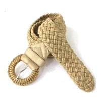Light brown Jute Belt