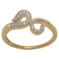 Diamond Rings - BAR2428, si - ijk, 12, 18 kt