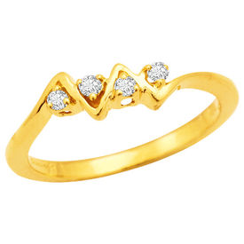 Diamond Rings - BAR286, si - ijk, 12, 14 kt