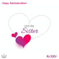 Best Sister Gift Card, 500