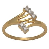 Diamond Rings - BAR1171, si - ijk, 12, 18 kt