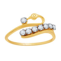 Mesmeric Diamond Rings - AIR012, si - ijk, 12, 14 kt