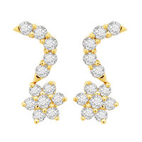 Diamond Earrings - DANS3ER, si - ijk, 18 kt