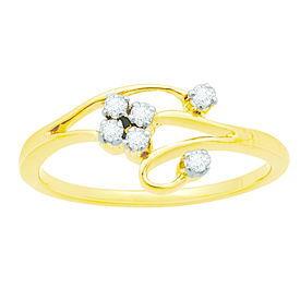 Cute Diamond Ring - BAR081