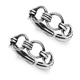 Graceful Cutwork Silver Toe Ring-TR201