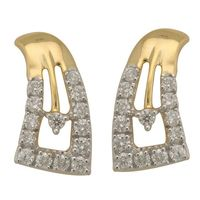 Diamond Earrings - BAPS1955ER, si - ijk, 18 kt