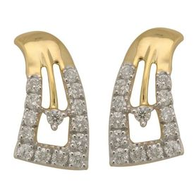 Diamond Earrings - BAPS1955ER, si - ijk, 14 kt