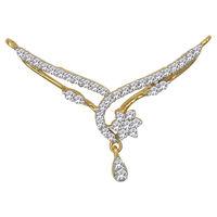 Diamond Mangalsutra - GUTS0134TCG, si - ijk, 18 kt