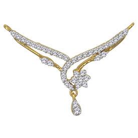 Diamond Mangalsutra - GUTS0134TCG