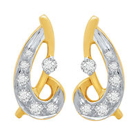 Dazzling Diamond Earrings- BAPS194ER, si - ijk, 18 kt