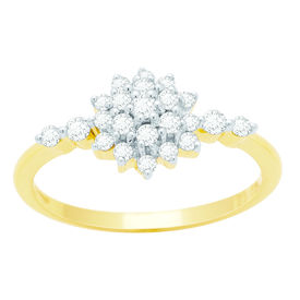 Glamorous Diamond Ring - BAPS234R, si - ijk, 12, 14 kt