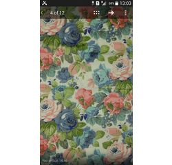 Vardhman Cotton Dohar White Floral Multicolor Single, multicolor