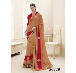 Galaxy Collection Vol 14 Designer Saree Orange, orange, georgette