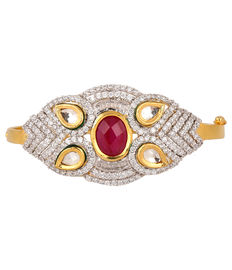 Red Stone Bracelet, red